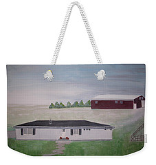 Jeffers Road Homestead Weekender Tote Bag by Joanne Smith