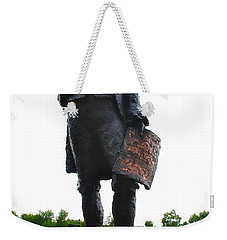 Jefferson In Paris Weekender Tote Bag by Eric Tressler