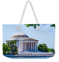 Jefferson Memorial Weekender Tote Bag by Anthony Baatz