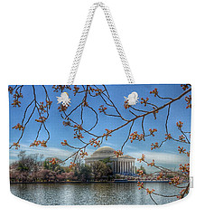 Jefferson Memorial - Cherry Blossoms Weekender Tote Bag
