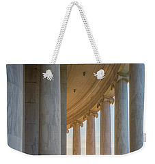 Jefferson Memorial Dawn Weekender Tote Bag by Inge Johnsson