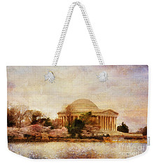 Jefferson Memorial Just Past Dawn Weekender Tote Bag