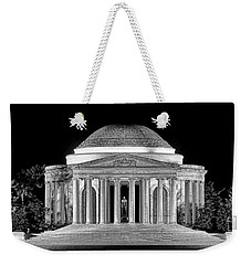 Jefferson Memorial Lonely Night Weekender Tote Bag