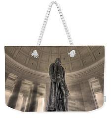 Jefferson Memorial Weekender Tote Bag by Shelley Neff