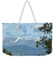 Weekender Tote Bag featuring the photograph Jefferson Pines by Laddie Halupa
