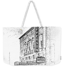 Jefferson Theatre Weekender Tote Bag