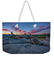 Weekender Tote Bag featuring the photograph Jeffrey Pine Dawn by Rick Berk