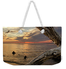 Jekyll Driftwood At Sunset Weekender Tote Bag