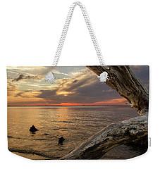 Jekyll Driftwood At Sunset Weekender Tote Bag