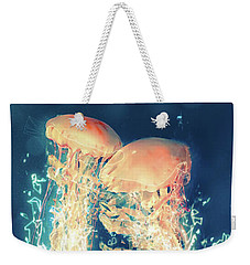 Jellies Weekender Tote Bag by Kenneth Armand Johnson