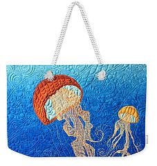 Jellies Of The Sea Weekender Tote Bag