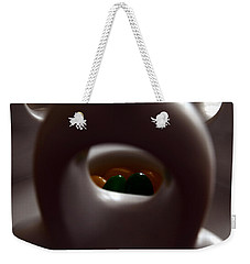 Jelly Bean Buddha Weekender Tote Bag