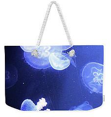 Jelly Fish At Parisian Aquarium Weekender Tote Bag