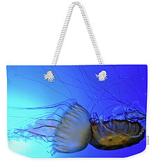 Jellyfish Collision Weekender Tote Bag