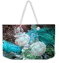 Jellyfish In Aquarium Weekender Tote Bag