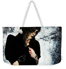 Weekender Tote Bag featuring the digital art Jenn 1 by Mark Baranowski