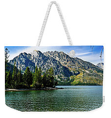 Jenny Lake Weekender Tote Bag by Greg Norrell