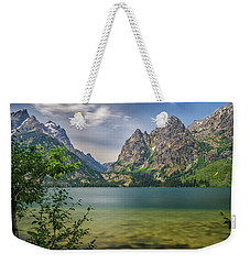 Jenny Lake In The Grand Tetons Weekender Tote Bag
