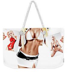 Jenny X 3 Weekender Tote Bag