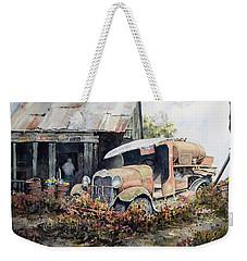 Jeromes Tank Truck Weekender Tote Bag