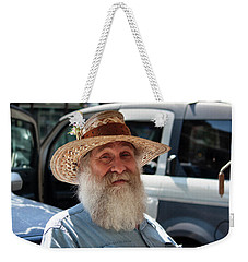 Jerry At The Market Weekender Tote Bag