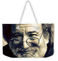 Jerry Garcia Artwork  Weekender Tote Bag
