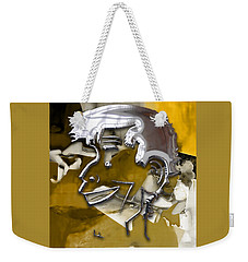 Weekender Tote Bag featuring the mixed media Jerry Lewis Comedian by Marvin Blaine