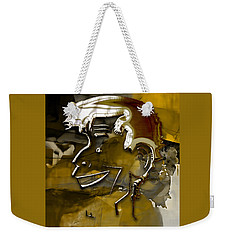 Weekender Tote Bag featuring the mixed media Jerry Lewis Comedy by Marvin Blaine