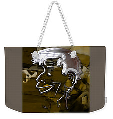 Weekender Tote Bag featuring the mixed media Jerry Lewis Entertainer by Marvin Blaine