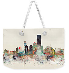 Jersey City New Jersey Weekender Tote Bag