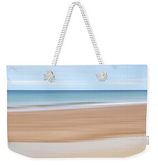 Jersey Coast Seascape Abstract Weekender Tote Bag by Gill Billington