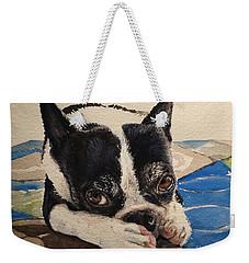 Jersey Weekender Tote Bag