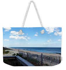 Jersey Shore Weekender Tote Bag by Judi Saunders