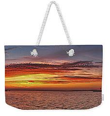 Jersey Shore Panorama Ship Bottom Weekender Tote Bag