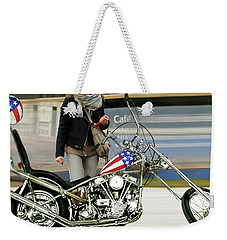 Jessica Alba, Captain America, Easy Rider Weekender Tote Bag