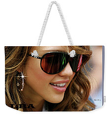 Jessica Alba, Cool Shades Weekender Tote Bag