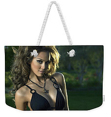 Jessica Alba Sexy Swimsuit Weekender Tote Bag
