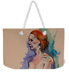 Jessica Weekender Tote Bag by Ray Agius