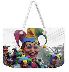 Jesters On Parade Weekender Tote Bag