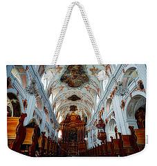 Jesuit Church Of Lucerne Weekender Tote Bag