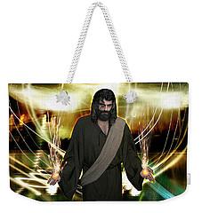 Jesus Christ- God Shines In Glorious Radiance Weekender Tote Bag