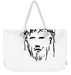 Jesus Christ Head Weekender Tote Bag