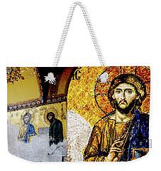 Jesus Christ, Pantocreator Weekender Tote Bag