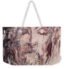 Jesus Christ Weekender Tote Bag by Pierre Van Dijk