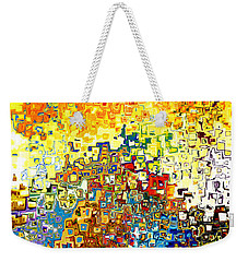 Jesus Christ The Elect Of God Weekender Tote Bag by Mark Lawrence