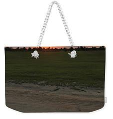 Jesus Healing Sunset Weekender Tote Bag