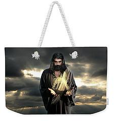 Jesus In The Clouds Weekender Tote Bag