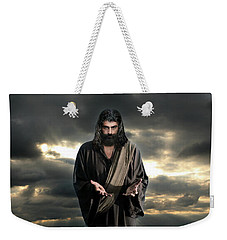Jesus In The Clouds With Glory Weekender Tote Bag