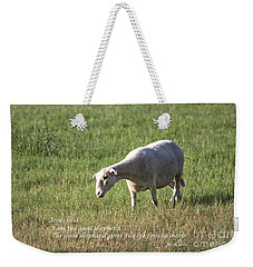 Jesus The Good Shepherd Weekender Tote Bag