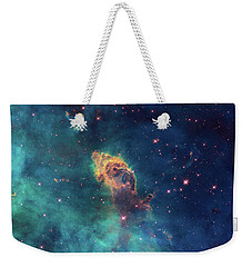 Weekender Tote Bag featuring the photograph Jet In Carina by Marco Oliveira